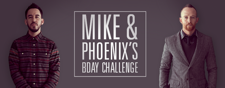 Donate now to our fundraiser page supporting Mike's and Phoenix's Birthday Challenge and support Music for Relief with their efforts regarding typhoon Haiyan. You can win CD Bundles and more!